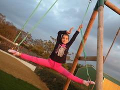 Emma, gymnaste et fille d'une salariée Maître CoQ