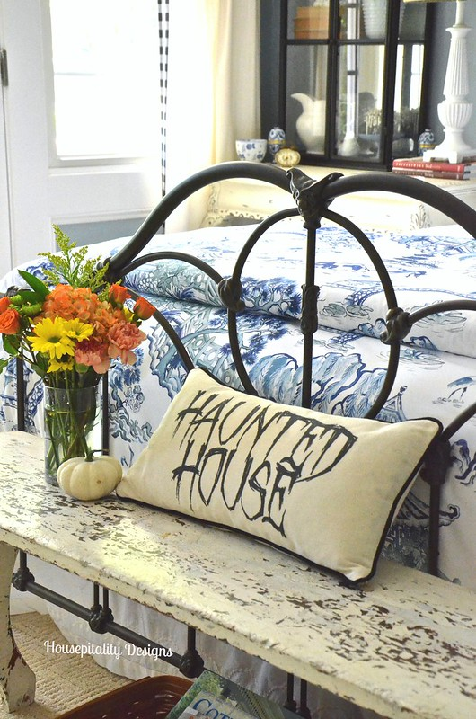 Haunted House Pillow/Guest Room - Housepitality Designs