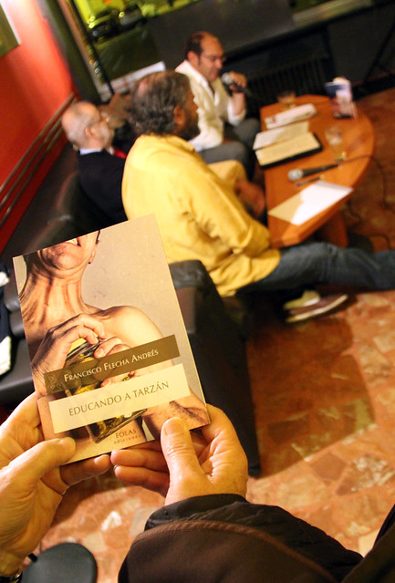 EDUCANDO A TARZÁN - PRESENTACIÓN DEL LIBRO DE FRANCISCO FLECHA EN EL CAFÉ RISTÁN - 15.10.15