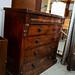 Antique darkwood chest