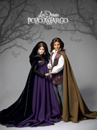 Raquel y Fernando personajes de la leyenda de La Dama del Pozo Amargo (The Lady of Bitter Well )