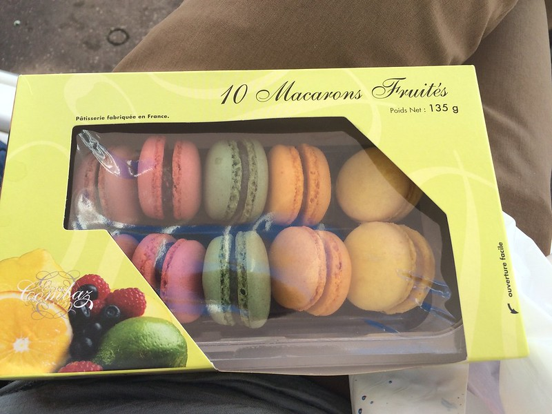 Store-quality macarons.
