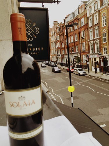 Men are like wine - some turn to vinegar, but the best improve with age. #solaia #antinori #35newcavendish