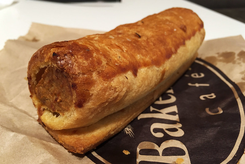 Sausage roll, Bakehouse Cafe