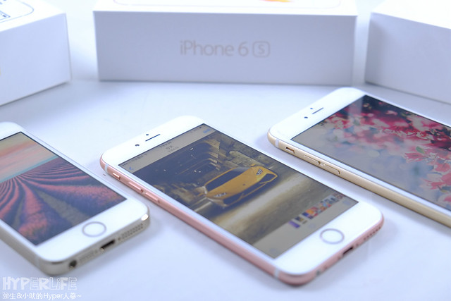 2015.10 iPhone 6s開箱unboxing