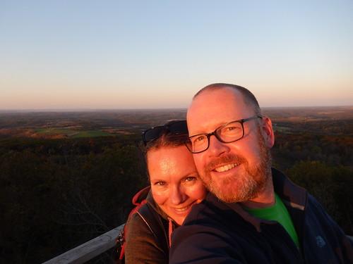 Blue Mound State Park - sunset - 2