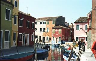 Venezia (VE), 1998, Isola di Burano.