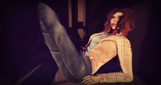Look of the day featuring Gizza and truth hair - second life