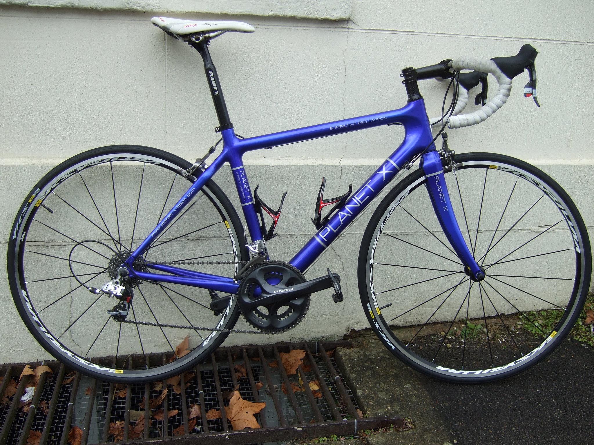 Fs Fs Planet X Carbon Pro Bike M 54cm Classic Blue Reduced