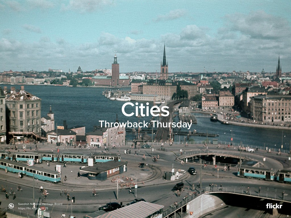 Throwback Thursday: Cities