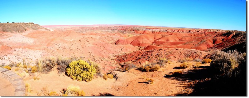 Painted Desert Panorama From Tiponi point