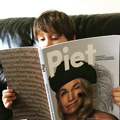 We launched our glossy last night! I think #pietmagazine has found its biggest fan. Buy your copy here: https://m.bol.com/nl/p/piet-glossy-over-piet/9200000051628425/