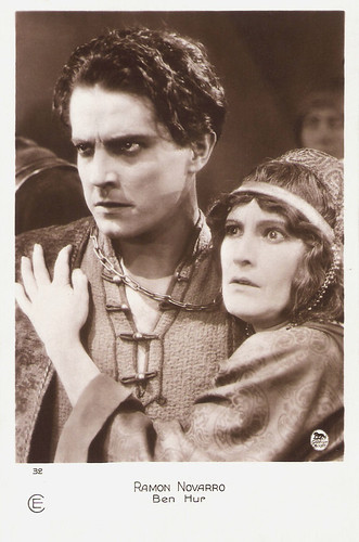 Ramon Novarro and Claire McDowell in Ben-Hur: A Tale of the Christ (1925)
