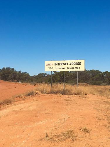 Wo man für den Internetzugang das Telecenter besuchen muss