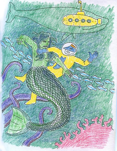 Mega-j and the Mermaid