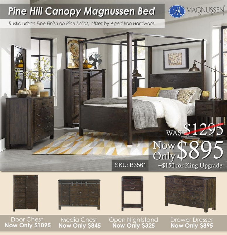 Pine Hill Canopy Bed