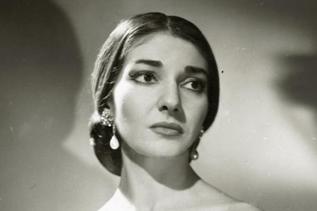 Maria Callas, 1958. By Houston Rogers. Courtesy WikiMedia