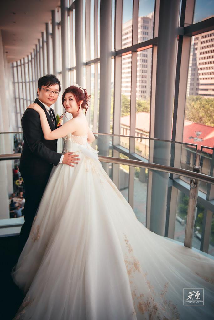 [ 婚攝英聖 | 婚禮記錄 ] Gordon+Lynn { 地點:徐州路二號 }