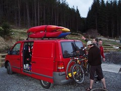 The Van of Adventure being unloaded Image