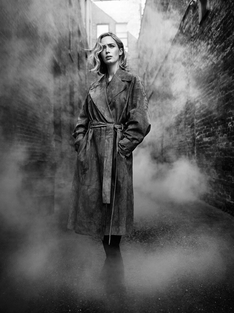 Эмили Блант — Фотосессия для «The Hollywood Reporter» 2016 – 2