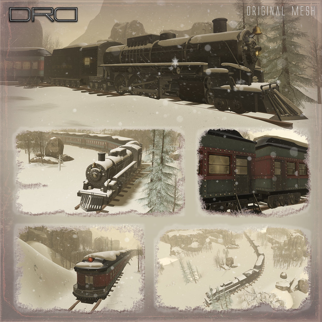 Arctic express outside - SecondLifeHub.com