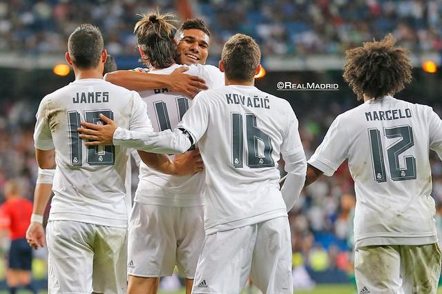 Liga BBVA (Jornada 2): Real Madrid 5 - Betis 0