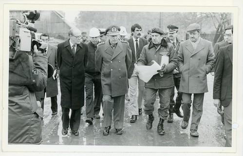 Chile 1986 - Temporales: Presidente Pinochet