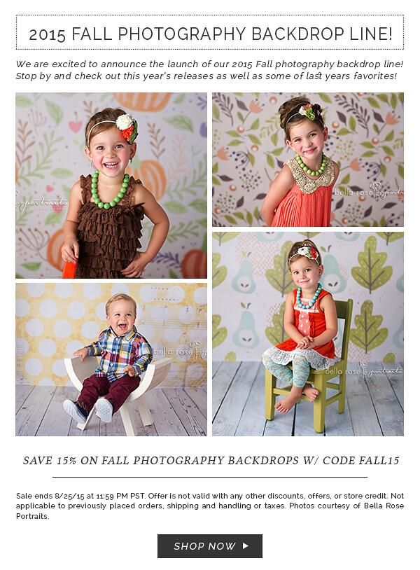 2015 Fall Photography Backdrop Line www.hsdbackdrops.com