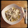 #Homemade #PastaAiFioriDiZucca #CucinaDelloZio - while pasta... Top w/ Ricotta and grated cheese