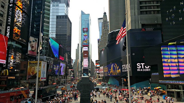 Times square July 2015