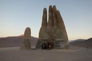 Mano del Desierto, Chile