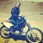 :heart:️ Gettin Dirty #dirtbike #honda #blonde #funfriday
