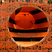 A hole in the orange by catb -