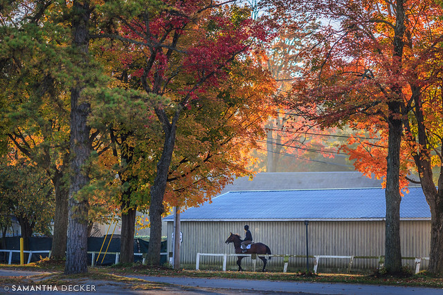 A Fall Morning at the Oklahoma Track