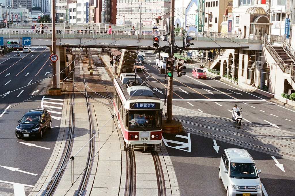 長崎車站 Nagasaki 2015/09/08 車站前的天橋  Nikon FM2 Nikon AI Nikkor 50mm f/1.4S Kodak UltraMax ISO400 Photo by Toomore