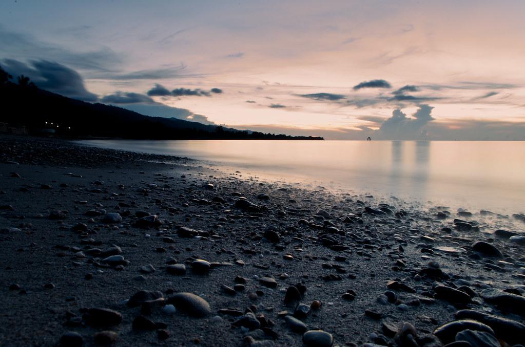 Beach at San Rafael Palawan