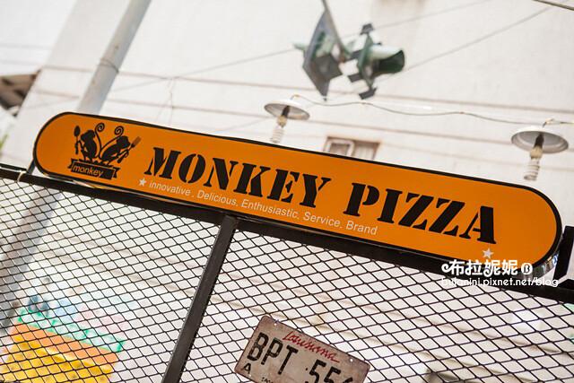 【台中大里美食】吃飯氣氛很重要!來這裡就對了@猴子披薩
