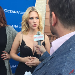 January Jones at OCEANA's Concert for Our Oceans hosted by Seth MacFarlane #ConcertfortheOceans - IMG_5462