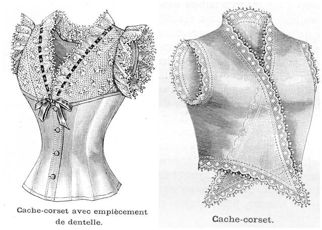 Deux cache-corsets, 1893