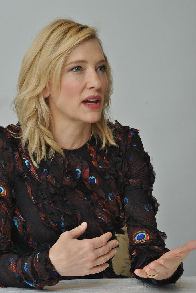 Кейт Бланшетт — Пресс-конференция «Правда» 2015 – 48