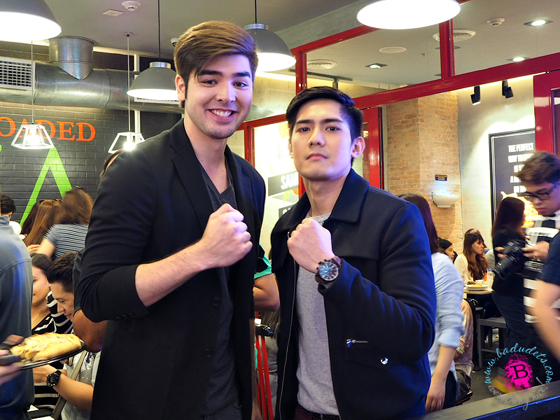 Robi Domingo and Andre Paras for Greenwich