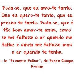 Pedro Chagas Freitas ! #AplausoBlogAuroradeCinema #BlogAuroradeCinemaaplaude #pedrochagasfreitas #poeta #escritorportugues #amar #literaturaportuguesa #amor #frasesdeamor #prometofalhar #querescasarcomigotodososdiasbarbara #insexusveritas #querescasarcomi
