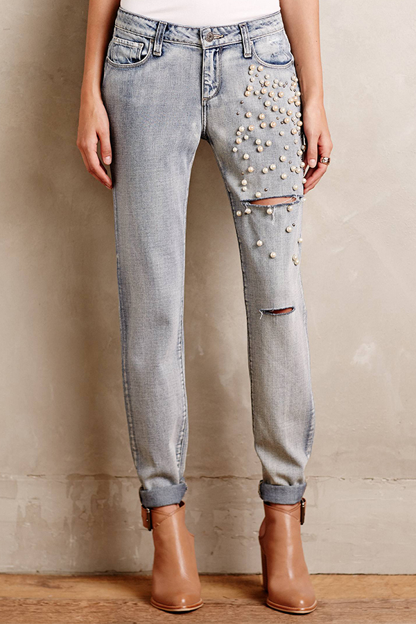 pearl-embellished-jeans