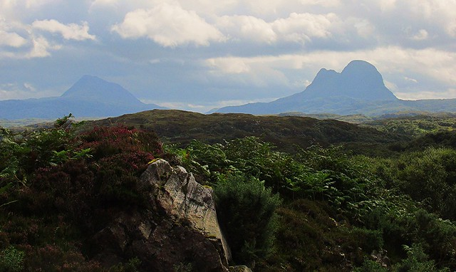 Canisp and Suilven.