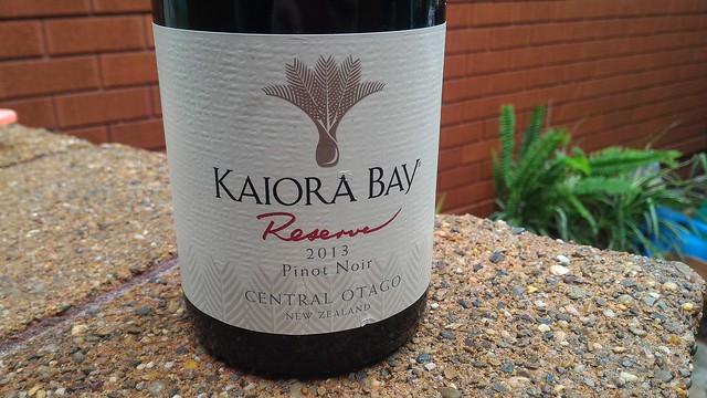 Kaiora Bay Reserve Pinot Noir Central Otago