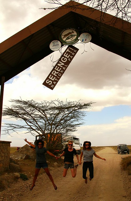 Leaving the Serengeti.