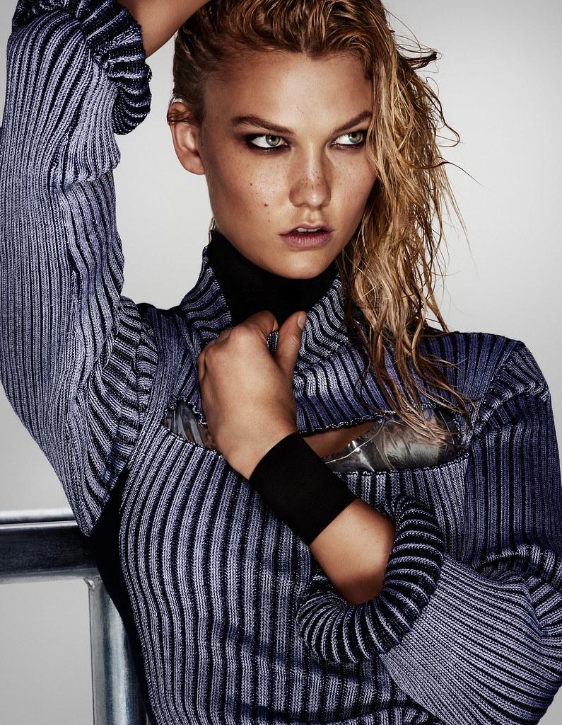 Карли Клосс — Фотосессия для «Vogue» CH 2015 – 3