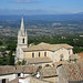 Church and rooftops - Bonnieux, in the Luberon, Provence by Monceau