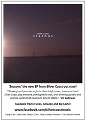 Silver Coast - 'Seasons' out now