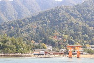 船上からの厳島神社